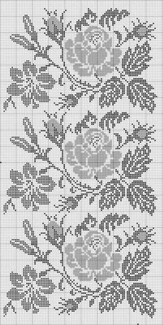 ,Good a few ideas for beautiful embroidery By embroidering beautiful patterns, small numbers or lovely borders, DIY fashion makers may style their own . Cross Stitch Rose, Cross Stitch Borders, Cross Stitch Flowers, Cross Stitch Designs, Cross Stitching, Cross Stitch Embroidery, Embroidery Patterns, Hand Embroidery, Cross Stitch Patterns