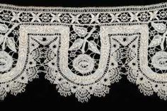 piece from Ruth Hellmann's collection exhibited at the Avenir Museum of Design & Merchandising in Colorado, which hosted a lace identification workshop attended by various regional guilds