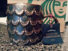 Starbucks siren collection 2015.. mermaid coffee mug