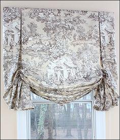 London Roman Shade | Fabric Custom Shade