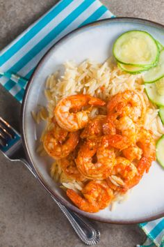 Spicy Shrimp Romesco - an easy weeknight meal for less than $10! #bbsuperfresh