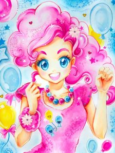 Humanized Pinkie Pie