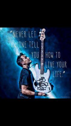 Blink-182's Mark Hoppus quote <3