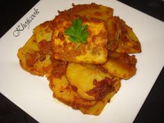 Fried Masala Fish with Potatoes