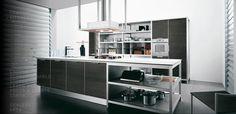European kitchen design | Modern European kitchen design with nice decoration