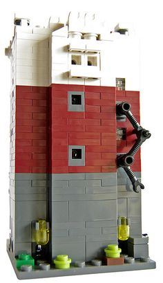 Lego Mini Modular Thomson Building; Back   Flickr - Photo Sharing!