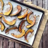 Maple and rosemary roasted squash