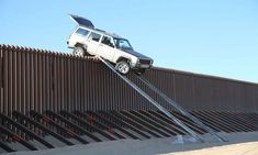 Mexican border fence.