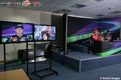 Conferencia de prensa GP de India F1 2012 - Domingo  Los tres hombres más rápidos de la carrera atienden a los medios
