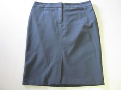 Worthington Skirt 12 Gray Lined #Worthington #StraightPencil