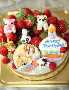 1歳のお誕生日: Happy 1st birthday!