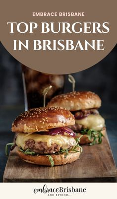 Gourmet burgers have hit the big time so that everyone is jumping onto the connoisseur burger bandwagon, where a bun, meat patty and salad can appeal to the corporate critic or the tradie's tastes. We've explored the top burgers in Brisbane. It's a tough job, but someone's gotta do it.