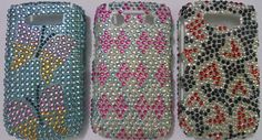 for blackberry 8900 hard back case diamond party wear new designer