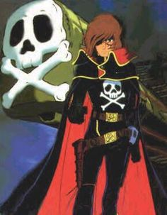Hobbies In Chinese Refferal: 4536303906 Space Pirate Captain Harlock, Black Hole Gif, Star Blazers, Film D, Album Jeunesse, Hobbies For Men, Rc Hobbies, Cartoon Games, Cartoon Characters