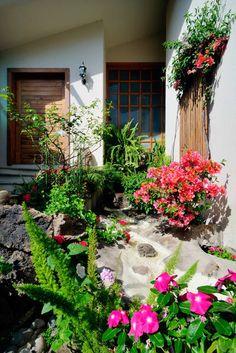 busca imgenes de jardines de estilo asitico en blanco cascada de ingreso encuentra las