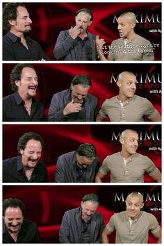 theo kim tommy | ... EVERY time. Theo Rossi, Kim Coates, Tommy Flanagan. Sons of Anarchy