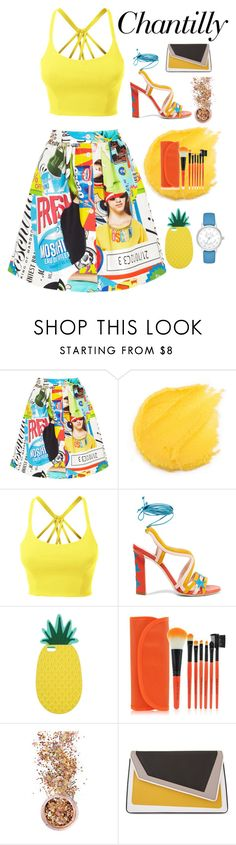 """""""Untitled #3"""" by victoria-martinez19 on Polyvore featuring Moschino, LE3NO, Paula Cademartori, Miss Selfridge, In Your Dreams, âme moi and Kate Spade"""