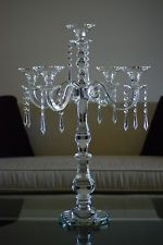 Crystal candelabra wedding centerpiece  -27 Tall