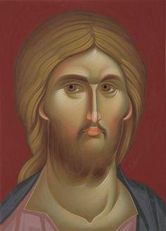 Purdea Verleriu Religious Images, Religious Icons, Religious Art, Byzantine Icons, Byzantine Art, Christ Pantocrator, Jesus Face, Russian Icons, Biblical Art