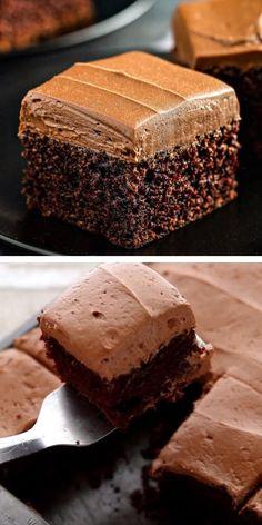 Best Chocolate Frosting Recipe, Chocolate Mayonnaise Cake, Frosting Recipes, Chocolate Desserts, Cake Recipes, Snack Recipes, Easy Desserts, Delicious Desserts, Yummy Food