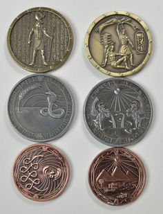 Fantasy Coin, LLC is raising funds for Fantasy Coins and Bars on Kickstarter! 10 new Coin Sets, more Bar designs, and Hex Gems! Dungeons And Dragons, Romans Bible, History Of Pakistan, Floor Stickers, Gold Bullion, Fantasy Weapons, Coin Jewelry, Scrapbook Sketches, Coin Collecting
