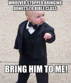 bring him to me! #lutheran #humor #bibleclass