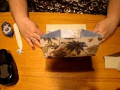 Paper Purse Tutorial by stampingwithmichelle