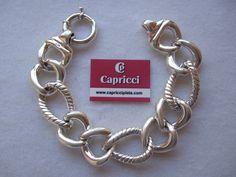 Pulsera de plata 925m www.capricciplata.com