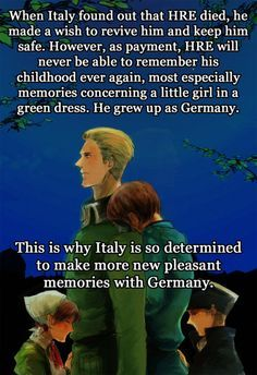 Germany/HRE and Italy  -Hetalia this is......ughhhhhh sadness