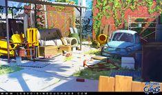 Yard, Sylvain Sarrailh on ArtStation at http://www.artstation.com/artwork/yard-5d1c7ad8-d5fe-478f-845e-48959f76f863
