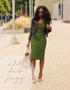 Gorgeous Green Dress. ..Casual Chic