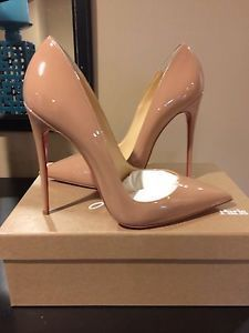 Different view christian louboutin so kate nude - Google Search olha o salto! um amor!