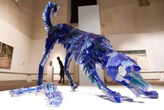 Los animales muy realistas formados a partir de Shattered Glass - My Modern Metropolis