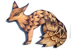 Hey, I found this really awesome Etsy listing at https://www.etsy.com/listing/240011542/burned-wood-fox-wall-hanging-pyrography