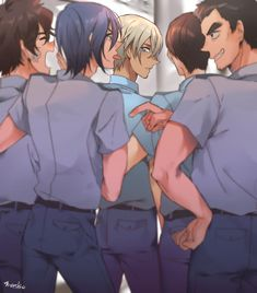 Dc Police, Police Story, Amuro Tooru, Detektif Conan, Police Academy, Case Closed, Hot Anime Guys, Kaito, Anime Characters