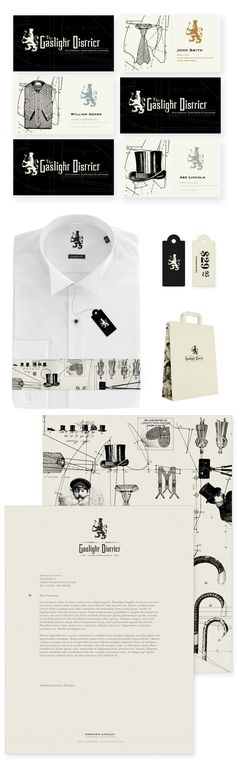 beautiful idea for tailoring #identity #packaging PD