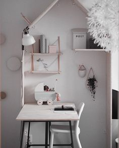 The Sweetest Girl's Nordic Room from Instagram http://petitandsmall.com/sweetest-girls-nordic-room-instagram/