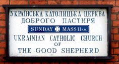 Gloucester - notice board 'Ukrainian Catholic Church of th… | Flickr