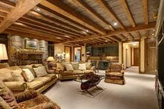 Image result for exposed basement ceiling ideas