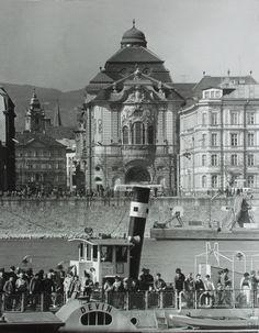 Ester Plicková: Bratislava. Reduta:1966 Bratislava, Vintage Architecture, History Photos, Old City, Eastern Europe, Prague, Time Travel, Budapest, Old Photos