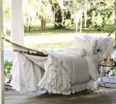 Shabby hammock