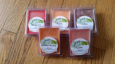 Soy Wax Melts in Clamshell Containers by CandlesByAmanda228