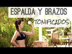 RETO BIKINI BOOTCAMP | Semana 2B | Espalda Y Brazos Tonificados | Naty Arcila | - YouTube