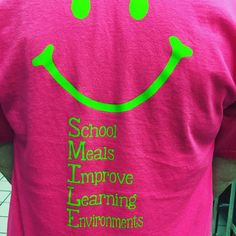 We SMILES in and programs because School Meals Improve Learning Environments! at Haleyville Middle School ROCK Kids Nutrition, Nutrition Tips, Nutrition Plate, Nutrition Month, Nutrition Activities, Sports Nutrition, School Shirts, Work Shirts