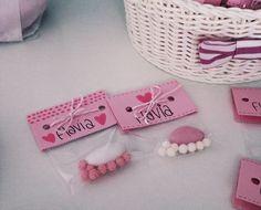 Bomboniere nascita - sacchetto un confetto e zuccherini