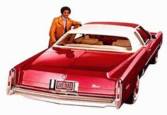 1977 Cadillac Eldorado Cabriolet Coupe in Desert Rose Firemist with White Cabriolet vinyl roof