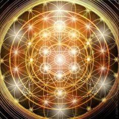 Flower of Life / Tree of LIfe / Ascension: Adam Kadmon Blueprint. Kaleidoscope Art, Yoga Inspiration, Rose Croix, Archangel Uriel, Yoga Studio Design, Secrets Of The Universe, Art Graphique, Visionary Art, Flower Of Life