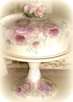 beautiful cake plate