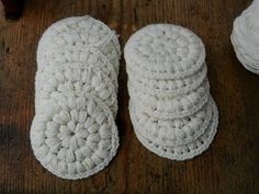 punos-sidos-silmukka: Virkatut vanulaput