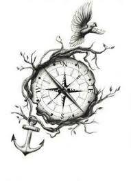 Resultado de imagem para compass tattoo